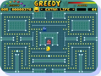 Open : Screenshot greedy game
